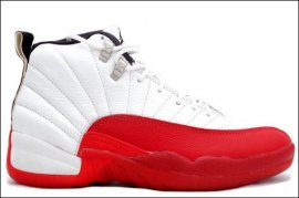 Jordan 12 (XII) Original (OG)-Taxi (White /Red-Taxi) 130690-161