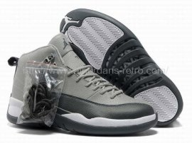 Jordan 12 (XII) Retro Cool Grey Black White Shoes