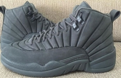 Jordan 12 (XII) Retro Dark Grey/Dark Grey-Black 130690-003