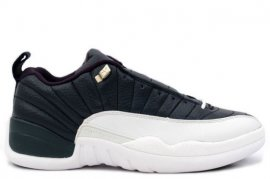 Jordan 12 (XII) Retro Low-Obsidian (Obsidian / University Blue-White) 308317-441