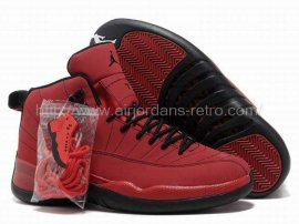 Jordan 12 (XII) Retro Red Black Shoes