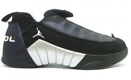 Jordan 15 (XV) Original (OG) Low-Black / White-Metallic Silver 136042-101