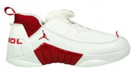 Jordan 15 (XV) Original (OG) Low-White / Deep Red 136035-161