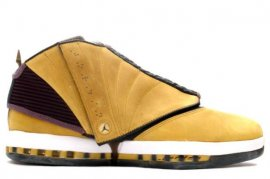 Jordan 16 (XVI) Original (OG)-Gingers (Light Ginger / Dark Charcoal-White) 136080-701