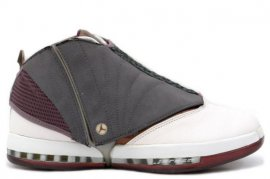 Jordan 16 (XVI) Original (OG)+Q M-Whisper White / Cherrywood-Light Graphite 136080-020
