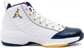Jordan 19 (XIX) Original (OG) SE-Olympics (White / Metallic Gold-Midnight Navy) 308492-171