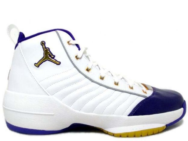 Jordan 19 (XIX) Original (OG) SE-West (White / Metallic Gold-Varsity Purple) 308492-172