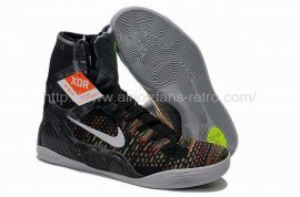 Kobe 9 Elite XDR Black/Metallic Silver-Vlt-Bright Crms 641714-001