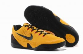 "Kobe 9 EM ""Bruce Lee"" University Gold/Blk-Lsr Crmsn 646701-700"