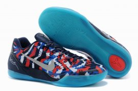 "Kobe 9 EM ""July 4th"" White/Metallic Silver-Hyper Cobalt-Action Red 646701-104"