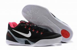 Kobe 9 EM XDR Black Red Grey 653972 001