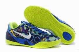 Kobe 9 Low EM Game Royal White Atomic Green 653972 600
