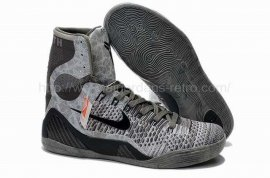 "Kobe IX Elite ""Detail"" Base Grey / Black 630847-003"