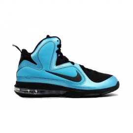 ID Lebron 9 Samples Black Black Blue