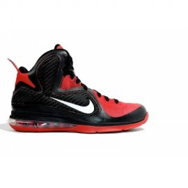 ID Lebron 9 Samples Black Red White