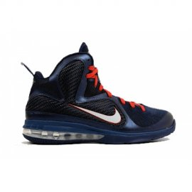 ID Lebron 9 Samples Dark Blue Red White