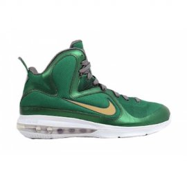 ID Lebron 9 Samples Green White Yellow
