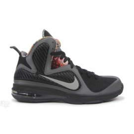 Lebron 9 BHM Midnight Fog Black