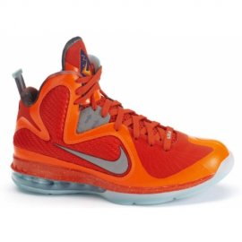 Lebron 9 Big Bang Total Orange Metallic Silver Team Orange Mint Candy