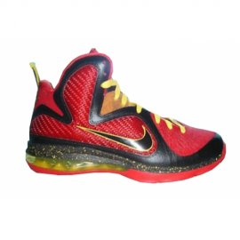 Lebron 9 Fairfax Away Red Black Yellow