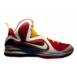 Lebron 9 Fairfax Away Red White Yellow