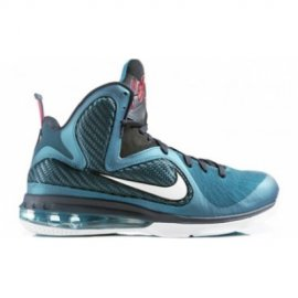 Lebron 9 Green Abyss White Obsidian Light Blue Heather