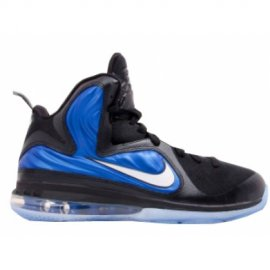 Lebron 9 ID Samples Black Royal Blue