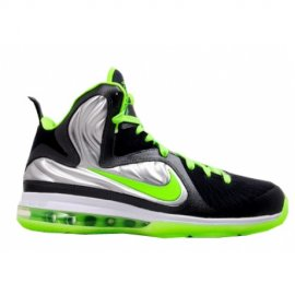 Lebron 9 ID Samples Silver Black Green